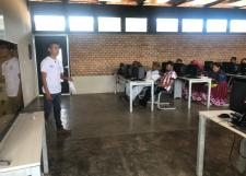 Inicio del taller de computación básica para padres de familia EEMS WIXÁRIKA